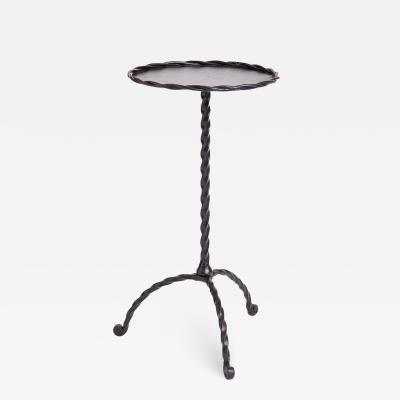 Black Martini Table