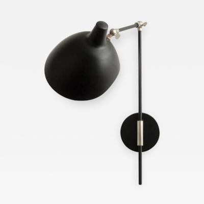 Black Powder Coated Metal Sconce