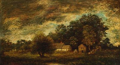 Ralph Albert Blakelock Landscape with Farm