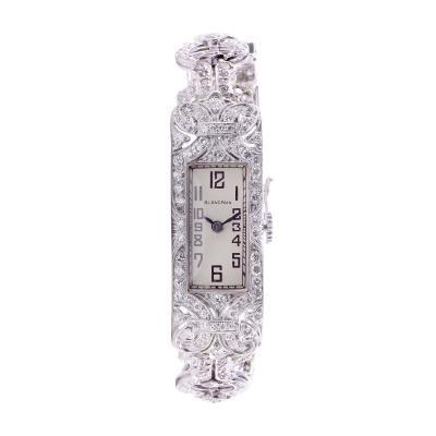 Blancpain 4 50 CTW Diamond Wrist Watch