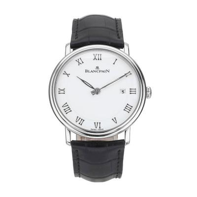 Blancpain Blancpain Stainless Steel Villeret Automatic Wristwatch