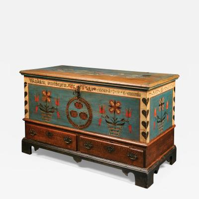 Blanket Chest for Maria Magdalena Dunkelberger 1778 1863