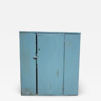 Blue Primitive Shaker Jelly Cupboard