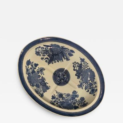 Blue and White Fitzhugh Well Tree Platter