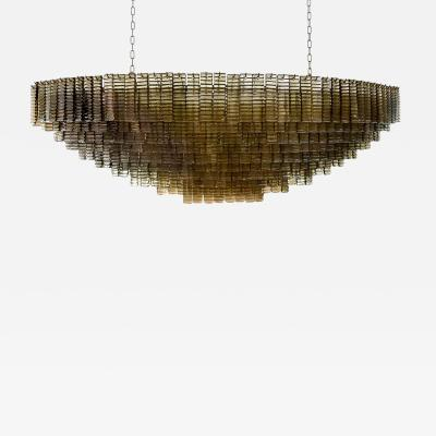Boat shaped Piastre ceiling light