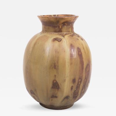 Bode Willumsen Brown Glazed Stoneware Vase