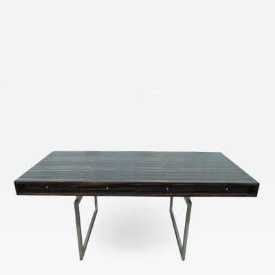 Bodil Kjaer Rare Macassar Desk by Danish Designer Bodil Kjaer