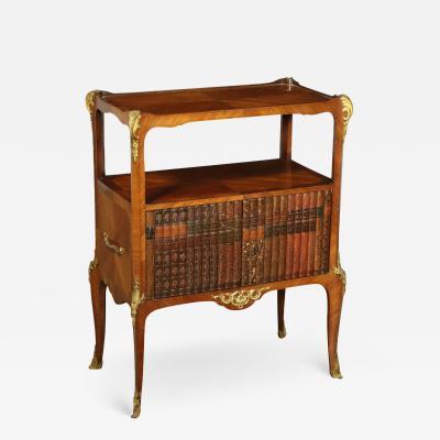 Bookcase Napoleon III Mahogany Bronze France 3rd Quarter 19th Century