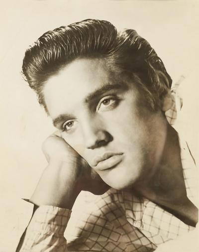 Bored Elvis photography from the 60s
