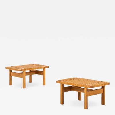 Borge Mogensen B RGE MOGENSEN SIDE TABLES