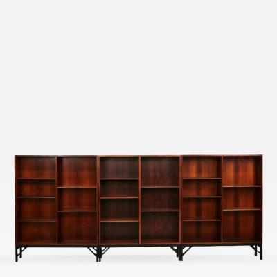Borge Mogensen B rge Mogensen Rosewood Bookcases Denmark 1960s