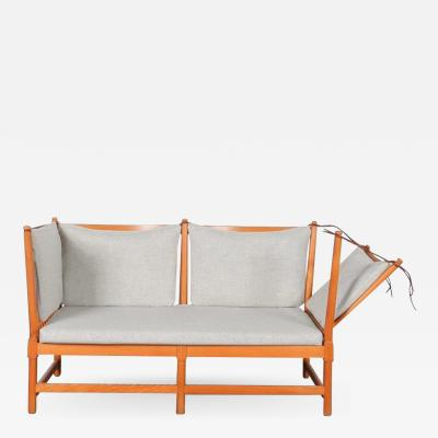 Borge Mogensen Spokeback Sofa by B rge Mogensen for Fritz Hansen Denmark 1963