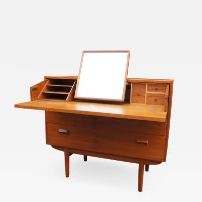 Borge Mogensen Teak Vanity Dresser by Borge Mogensen