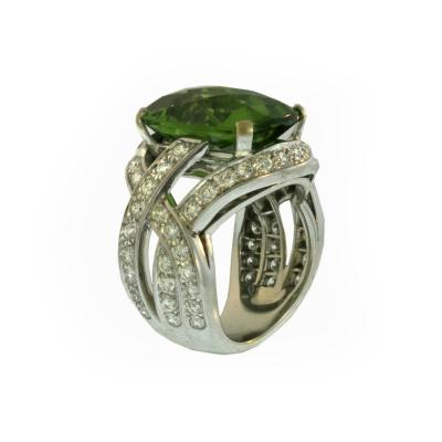 Boucheron Paris Peridot Ring