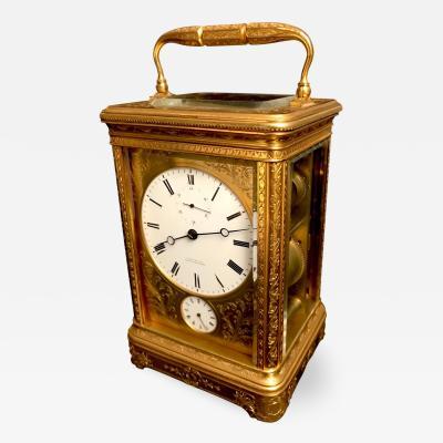 Bourdin Carriage Clock by Bourdin