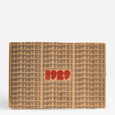 Boutiques 1929 Paris