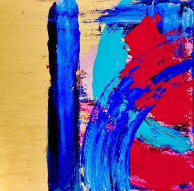 Brady Legler Brady Legler Wonderland Acrylic on Canvas 2017