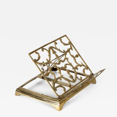 Brass Adjustable and Folding Bookrest