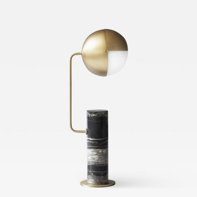 Brass Another Table Lamp Square in Circle