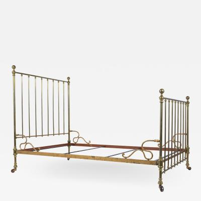 Brass Antique Bed Frame