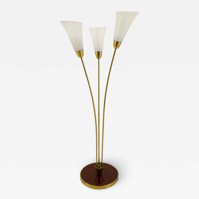 Brass Art Deco Floor Lamp 1940