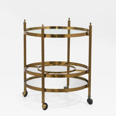 Brass Barcart on Castors 1960s