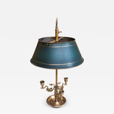 Brass Bouillotte Gaming Lamp