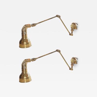 Brass Chart Lights