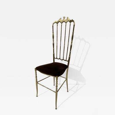 Brass Chiavari Vanity Side Chair