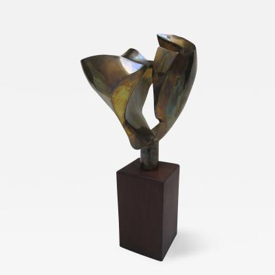 Brass Sculpture Sweden 1970