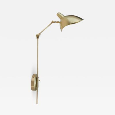 Brass Swivel Metal Wall Sconce