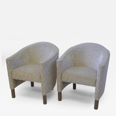 Brayton International Collection Club Tub Chairs by Brayton International Collection