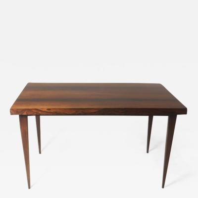 Brazilian Mid Century Modern Hardwood Desk Table Brazil 1960s