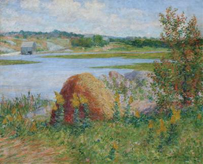 John Leslie Breck On the Essex River
