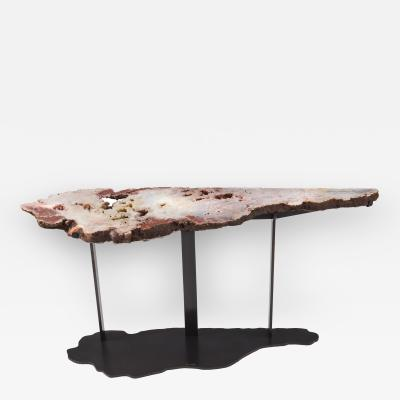 Brenda Houston Agate Console Table
