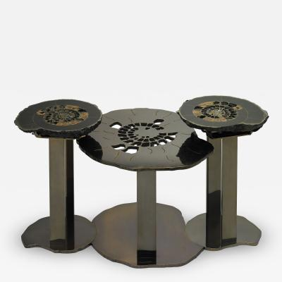 Brenda Houston Ammonite Coffee Table Nelson
