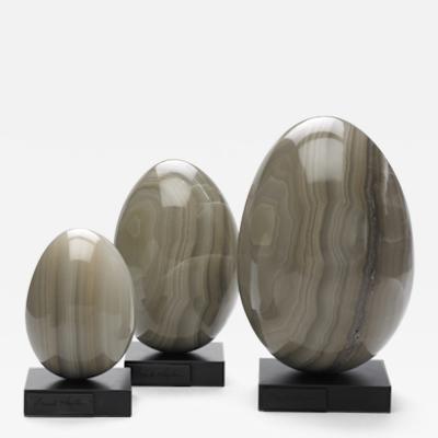 Brenda Houston Grey Onyx Eggs