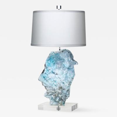 Brenda Houston Hemimorphite Lamp
