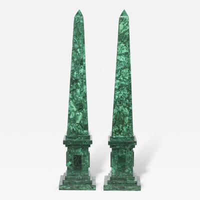 Brenda Houston Malachite Obelisks
