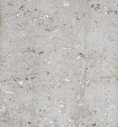 Brenda Houston Pearl on Silver Cork Wallcovering