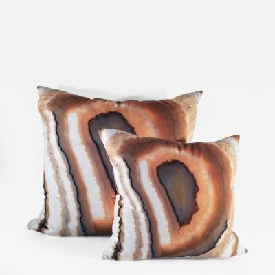 Brenda Houston Pillows Agata Illuminata