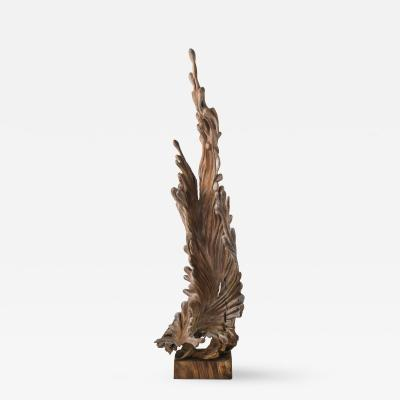 Brenda Houston Teak Sculpture