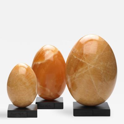 Brenda Houston Yellow Calcite Eggs