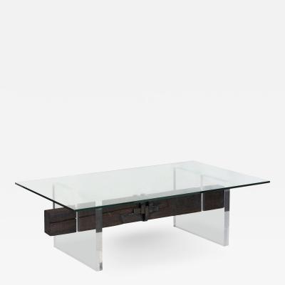 Brent Delf Beam Splice Cocktail Table