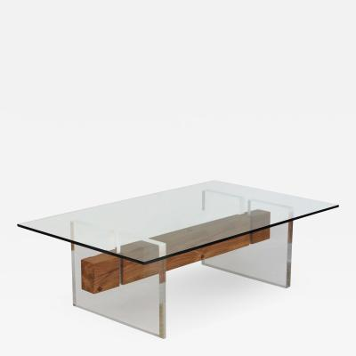 Brent Delf Floating Beam Cocktail Table