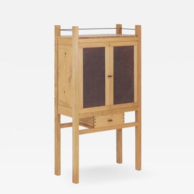 Brent Delf Punchwork Bar Cabinet