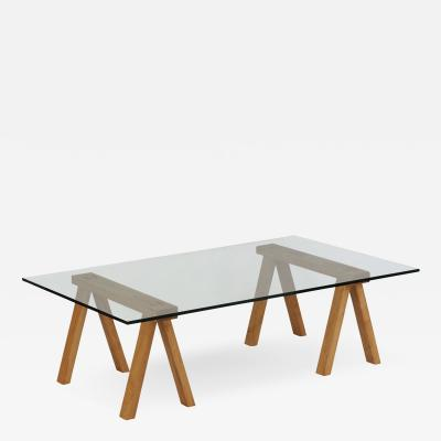 Brent Delf Sawyers Bench Coffee Table