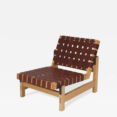 Brent Delf Webed Lounge Chair