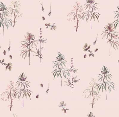Brett Design Botanical Weed Calamine
