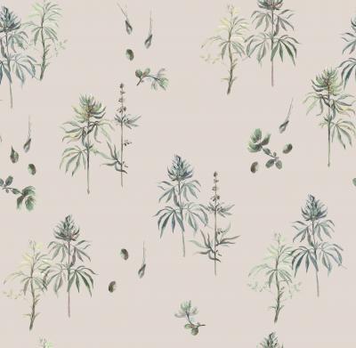 Brett Design Botanical Weed Featherstone